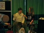 Joy Cowley at Christchurch Storylines Family Day