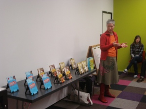 Leonie Thorpe at Central Library