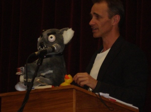 Andy Griffiths and his Killer Koala