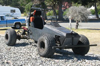 This dune buggy or something like it will feature in the story
