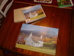 The puzzle I finished today!