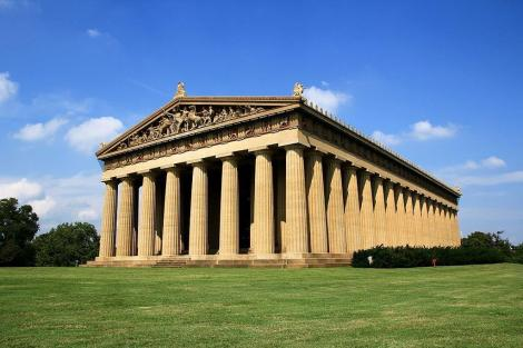 2. Parthenon replica Wikipedia
